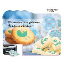 Unprinted MagicSheets Transfer Sheets - for Chocolate, Cookie, Meringue and Isomalt - 24 MagicSheets