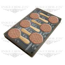 Inkedibles 530-017 Magnetic Chocolate Mold - 11x7 inch