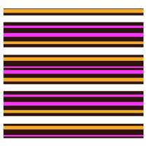 Pre-printed Chocolate Transfer Sheets - For Love of Stripes