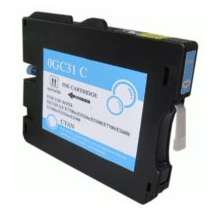 Ricoh 405689 (GC31C) Cyan ink compatible inkjet cartridge