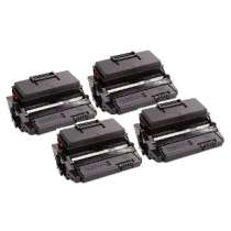 Ricoh 407169 Black compatible toner cartridges - 4 pack