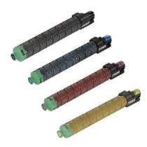Ricoh 821181 / 821184 / 821183 / 821182, Type SP C830DNHA compatible toner cartridges - 4 pack