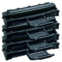 Compatible for Samsung ML-2010D3 toner cartridges - 4-pack