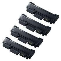 Compatible for Samsung MLT-D116L toner cartridges - 4-pack