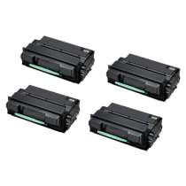 Compatible for Samsung MLT-D305L Black toner cartridges - 4-pack