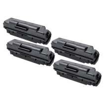Compatible for Samsung MLT-D307S Black toner cartridges - 4-pack