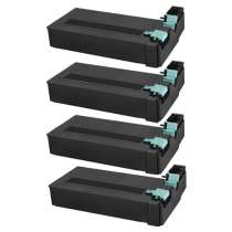 Compatible for Samsung SCX-D6555A Black toner cartridges - 4-pack