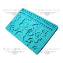Design 535-002 Silicone Chocolate and Fondant Mold