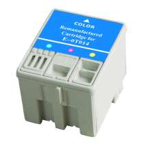 Epson T014201 Color ink remanufactured inkjet cartridge