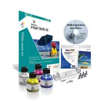 Fillserv Tri-Color Inkjet Refill Kit