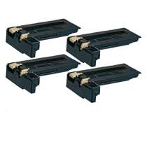 Xerox 106R01409 Black compatible toner cartridges - 4 pack